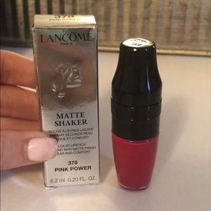Matte Shaker Liquid Lipstick - Pink Power